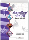 49 CFR Code of Federal Regulations -  Parts 100-185, MasterRegs - USB-Stick
