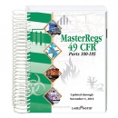 49 CFR Code of Federal Regulations -  Parts 100-185, MasterRegs - Spiral Bound